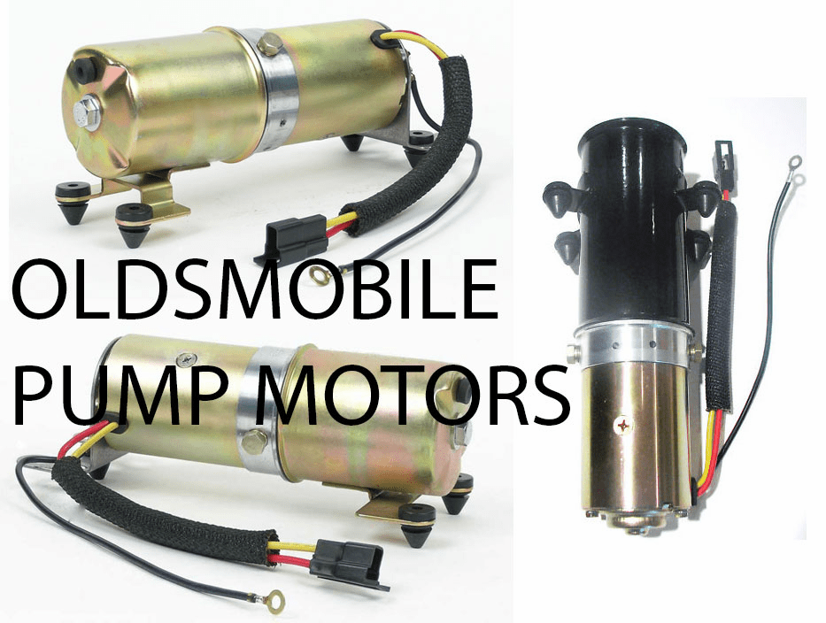 Oldsmobile Convertible Top Pump Motors