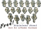 Bolt Kit - Stainless