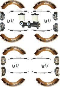 Brake Kit 10/'71 to 12/'74 - 2 FREE Brake Shoe Return Spring Kits