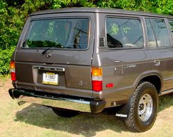 Bumper - Rear - Chrome - FJ60 FJ62 - TOYOTA