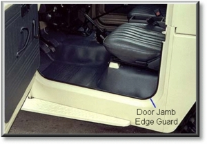 Door Jam Edge Guard