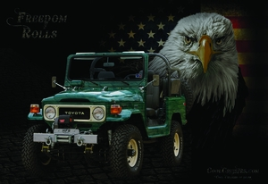 Freedom Rolls - Poster