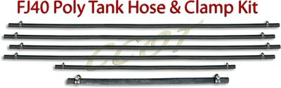 Gas Tank - 9/72 - 12/78 - Hose & Clamp Kit