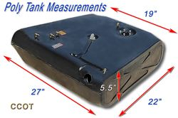 Gas Tank ~ Poly Measurements