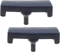 Hood - Windshield Rest Pads -  Bumpers -  2ea - 1/75- 84 - Aft Mrkt