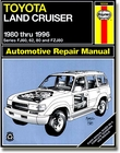 Manual - Book -  Haynes Manual -  '80 to '96