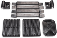 Pedal and Hood Pad Kit FJ & BJ Series - 1979 to 1985