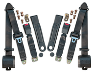 Seat Belts - Jeep CJ5, CJ7, CJ8, 76-81 Pr/Shoulder Harness