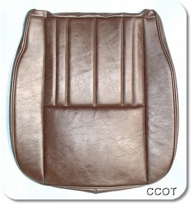 "Seat Cover ~  ""HFS""  Marine Vinyl ~ Brown ~ FJ60/62"