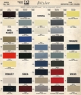 Toyota Color Code Book Sheets for 1968 to 1969 - Page 2