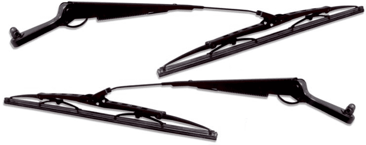 "Windshield Wiper Arm & Blade - 18"" Pair - FJ60/62/80 - '81-'90 - Aft Mrkt"