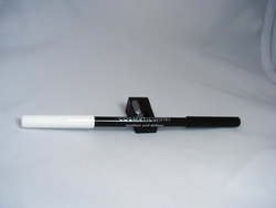 Dual Color Eyeliner and Definer Snow White/Very Black with Sharpener