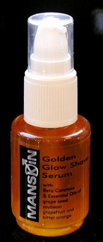 MANSKIN Golden Glow Shave Serum