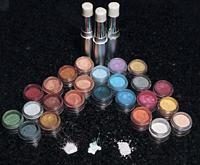 Mica, Glimmers, Sparkles & and I-Rave Mineral Eyeshadows