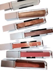 Mineral Lipglosses Vanilla Bean, Mega Frost and Diamond Gloss with Vitamins