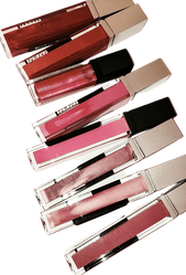 Mineral Lipglosses Mega Frost, Vanilla Beans and Diamond Gloss with Vitamins
