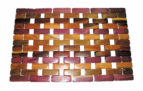 Costa Rica Placemat - Rosewood or Mixed Woods