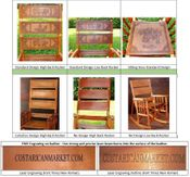ValuePak02 - 2 High Back Rocking Chairs + 25% OFF Accessories + FREE Shipping & Engraving