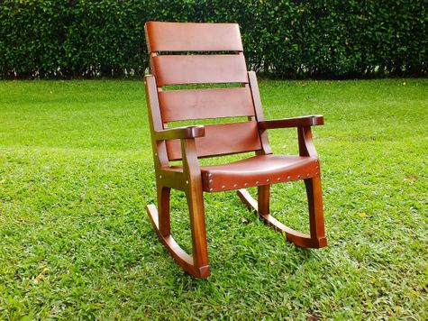 ValuePak09 - 1 DELUXE Costa Rican Rocking Chair + 1 FREE Head Cushion + FREE Engraving + 50% Shipping