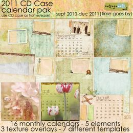 2011 CD Case Calendar Pak - As Time Goes By