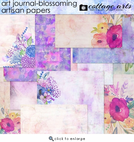 Art Journal - Blossoming Artisan Papers