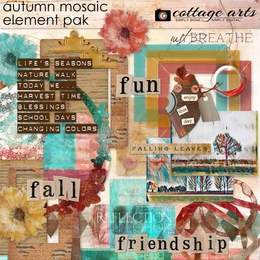 Autumn Mosaic Element Pak