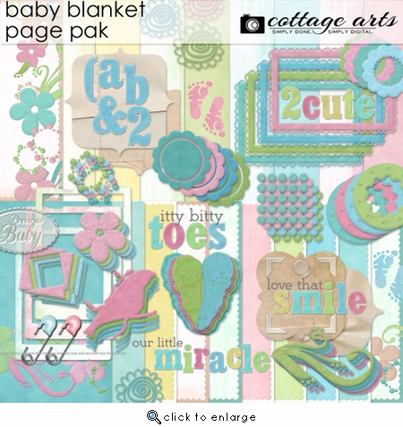 Baby Blanket Page Pak