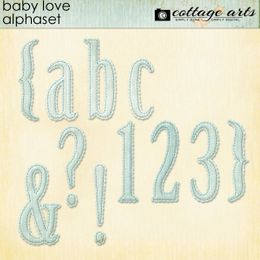 Baby Love AlphaSet