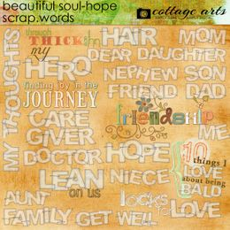 Beautiful Soul - Hope Scrap.Words