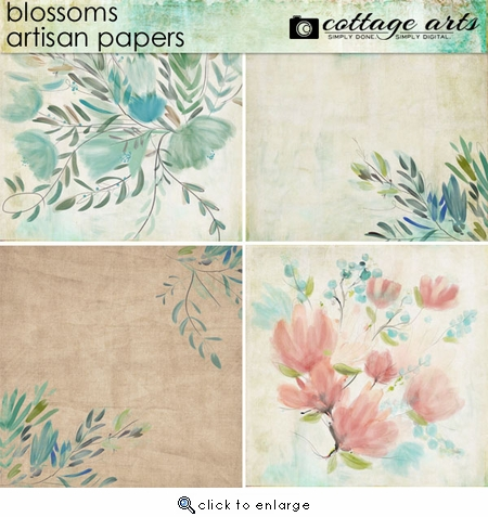 Blossoms Artisan Papers