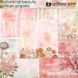 Botanical Beauty Artisan Papers