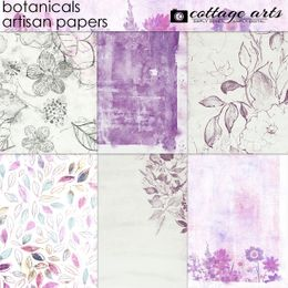 Botanicals Artisan Papers