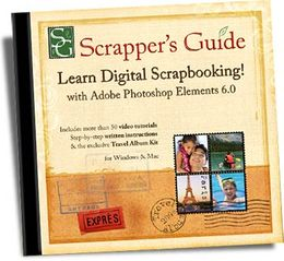 Learn Digital Scrapbooking <br> with  Adobe� Photoshop� Elements 6