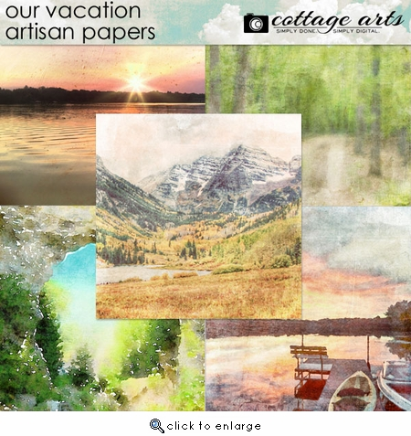 Our Vacation Artisan Papers