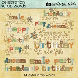 Scrap.Words - Celebration