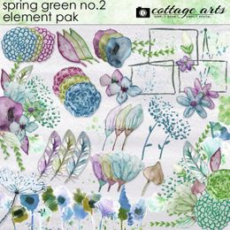 Spring Green 2 Element Pak