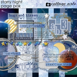 Starry Night Page Pak