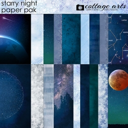 Starry Night Paper Pak