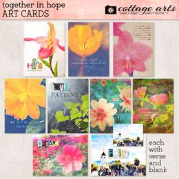 Together in Hope Art Cards