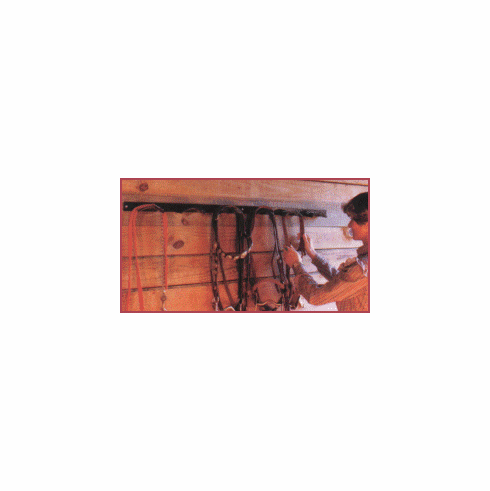 Curved Bridle Rack