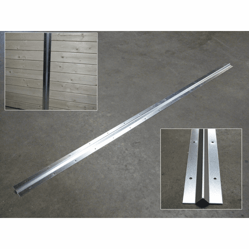 Galvanized Stall Wall Stiffeners Package of 4 each