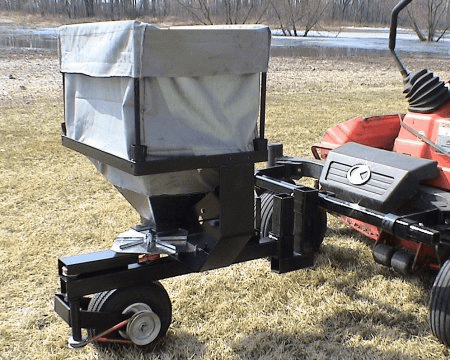 Zero Turn Mower Broadcast Spreader Without Mount