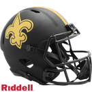 New Orleans Saints - Eclipse Alternate Speed Riddell Full Size Deluxe Replica Football Helmet