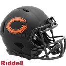 Chicago Bears - Eclipse Alternate Speed Riddell Mini Football Helmet
