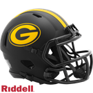 Green Bay Packers - Eclipse Alternate Speed Riddell Mini Football Helmet