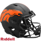 Denver Broncos - Eclipse Alternate Speed Riddell Full Size Deluxe Replica Football Helmet