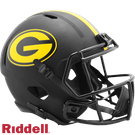 Green Bay Packers - Eclipse Alternate Speed Riddell Full Size Deluxe Replica Football Helmet