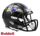 Baltimore Ravens Speed Revolution Riddell Mini Football Helmet