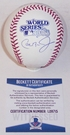 Cal Ripken Jr. - Autographed Official Rawlings 1983 World Series MLB League Baseball - BAS Beckett
