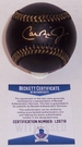 Cal Ripken Jr. - Autographed Official Rawlings Black MLB League Baseball - BAS Beckett
